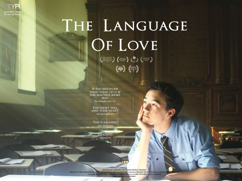 THE LANGUAGE OF LOVE Poster
